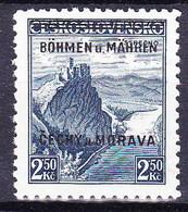 Boheme Et Moravie 1939 Mi 15  (Yv 15), (MNH)** - Bohemia & Moravia