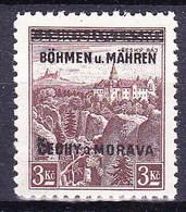 Boheme Et Moravie 1939 Mi 16  (Yv 16), (MNH)** - Bohemia & Moravia