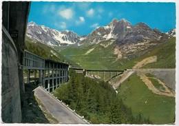 VALLE D'AOSTA, Traforo Del Gran S, Bernardo (m. 1800), Autostrada Coperta - Sullo Sfondo Il Valico, Unused Postcard - Italy