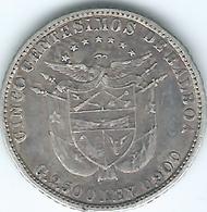 Panama -5 Centésimos - 1904 - KM2 - Panama