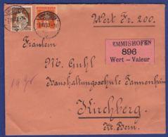 Wertbrief Von Emmishofen Mit Siegel (br7695) - Suisse