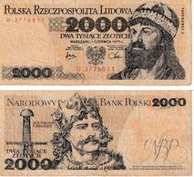 Pologne 2000 Zloties - Poland