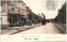 60 CREIL - L'avenue De La Gare - Creil