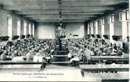 N°73556 -cpa Saint Cyr -école Militaire -un Réfectoire- - Regiments