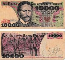Pologne 10000 Zloties - Pologne