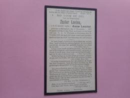 D.P.-ZUSTER LUCINA(A.LAURIER)°BOTTELAERE 17-12-1877+STEENDORP 16-10-1925-22eJAAR PROFES - Religion & Esotericism