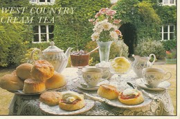 """West Country Cream Tea  Clotted Or """"Scald"""" Cream Has Been Made In The West Country For Generations - Recipes (cooking)"""
