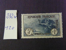 No 232  Neuf * - France