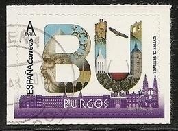 2019-ED. 5274 - 12 Meses, 12 Sellos. BURGOS -USADO - - 1931-Today: 2nd Rep - ... Juan Carlos I