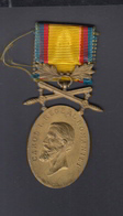 Romania Medal Carol I Barbatie Si Credinta - Royaux / De Noblesse