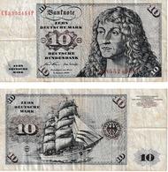 Rép.Fed.Allemande 10 Deutchmark - [ 7] 1949-… : FRG - Fed. Rep. Of Germany