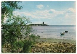 """SAINT-VAAST-LA-HOUGUE Le Fort De La Hougue Vu De La Baie Du """"Cul Du Loup"""". - Saint Vaast La Hougue"""