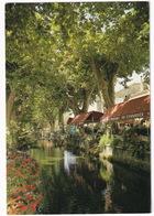 Goudargues - Le Canal De La Fontaine, Restaurant 'Du Commerce' - (Gard) - Nîmes