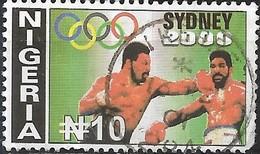 NIGERIA 2000 Olympic Games, Sydney - 10n Boxing FU - Nigeria (1961-...)