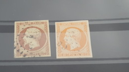 LOT 460125 TIMBRE DE FRANCE OBLITERE N°16 - 1853-1860 Napoléon III.