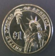 STATUE OF LIBERTY - US President Jefferson Thomas 3rd 1801-1809  One Dollar Medal - Monetari / Di Necessità