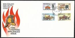1977 - NEW ZEALAND - FDC + SG 1156/1159 + WANGANUI - FDC