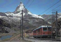 TNM 18 GGB Bhe 4/8 3044 SLM/BBC Rotenboden Railway, Svizzera Monte Cervino - Stazioni Senza Treni