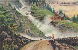 The Land Of The Midnight Sun , LAATEFOS , Norway , 1908 - Norvège