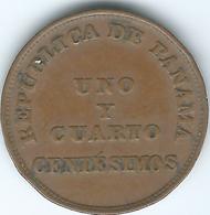 Panama - 1¼ Centésimos - 1940 - KM15 - Panama