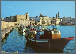 °°° Cartolina N. 38 Monopoli Porto E Panorama Nuova °°° - Bari