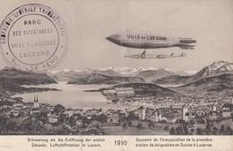 LUZERN , Switzerland , 00-10s ; Airship - Airships