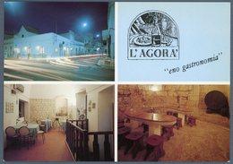 °°° Cartolina N. 39 Alberobello L'agorà Enogastronomia Nuova °°° - Bari