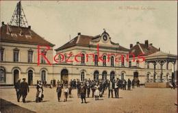 St Nicolas Sint Niklaas WaasLa Gare Station Statie Geanimeerd ZELDZAAM (In Zeer Goede Staat) - Sint-Niklaas