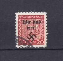 Rumburg - 1938 - Michel Nr. 3 - Occupation 1938-45