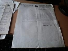 Leipziger Messamt Lajpciski Sajam Subotica 1937 - Facturas & Documentos Mercantiles