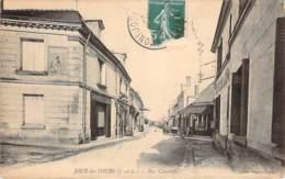 37 - Joué-les-Tours - Rue Chantepie (Charcuterie, Café De La ..., Epicerie, Publicité Chocolat Meunier Au Mur) - Frankreich