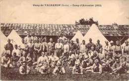 25 - Camp Du Valdahon - Camp D'Aérostier 1922 (militaria) - Autres Communes
