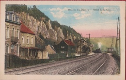 Marche-les-Dames Namur Namen Chromatografie Hotel De La Gare Train A Vapeur Stoomtrein Steamtrain - Namen