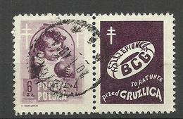 POLEN Poland 1948 Michel 513 Zf O - Gebraucht