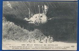 Débacle D'un Zeppelins Allemand   Animées - Guerre 1914-18