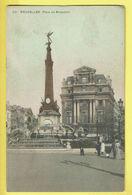 * Brussel - Bruxelles - Brussels * (nr 251 - Couleur) Place De Brouckère, Monument, Statue, Animée, Fontaine, TOP - Brussel (Stad)