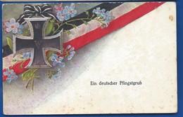 Croix De Fer     ORTSKOMMANDANTUR       écrite En 1916    Pliure Au Centre - Oorlog 1914-18