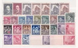 Böhmen Und Mähren - Sammlungsreste - Gest./Ungebr. - 3. - Occupation 1938-45