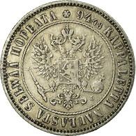 Monnaie, Finlande, Nicholas II, Markka, 1892, TTB, Argent, KM:3.2 - Finlandia