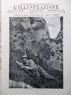 L'illustrazione Italiana 9 Luglio 1916 WW1 Brandolini Adige Brenta Cassoli Bazzi - Guerra 1914-18