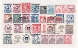 Böhmen Und Mähren - Sammlungsreste - Gest./Ungebr. - 5. - Occupation 1938-45