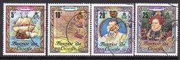Tristan Da Cunha 1980 400th Anniversary Of Drake's Circumnavigation Of The World Set Of 4, Used, SG 283/6 - Tristan Da Cunha