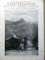 L'illustrazione Italiana 16 Luglio 1916 WW1 Altipiani Bologna Treves Valsugana - Guerra 1914-18