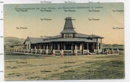 Namibia GSWA Swakopmund  Postcard German South West Africa Direktionsgebaude Otavi Minen Eisenbahn Usakos - Namibie