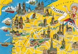 Flandre Et Artois    .....edit Artaud.no.4 - Mapas