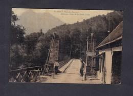 Corps (38) Pont Du Sautet ( Animée Toilée Belfrond Hotel De La Poste ) - Corps