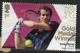 Great Britain 2012 Olympics Gold Medal Winners For Tennis Fine Used. - 1952-.... (Elizabeth II)