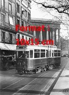 Reproduction D'une Photographie Ancienne D'un Tramway Ligne 35 Passant Boulevard Malesherbes à Paris En 1931 - Reproductions