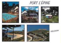 22 - Trélévern - Port L'Epine - Multivues - Piscine - Voir Scans Recto-Verso - France