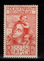 YV 428 N* Enfants De Chomeurs Cote 2,50 Euros - France